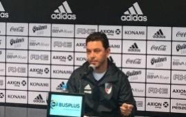 12/07/2019: Gallardo pidió mantener al plantel y que hagan un esfuerzo por Paulo Díaz