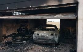 15/07/2019: Voraz incendio destruyó parte de la casa de un intendente entrerriano y precandidato a diputado nacional