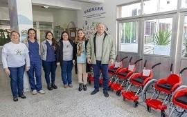 18/07/2019: La Fundación Garrahan donó 13 sillas de ruedas a la provincia