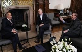 18/07/2019: Mauricio Macri y Miguel Ángel Pichetto sumaron como aliado a Adolfo Rodríguez Saá