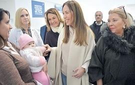18/07/2019: María Eugenia Vidal sumó a Elisa Carrió a su campaña por la reelección