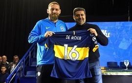 29/07/2019: Daniele De Rossi, presentado en Boca: