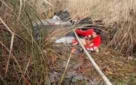 29/07/2019: Rescatan a una familia que despistó y terminó dentro de un bañado