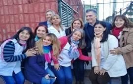 30/01/2019: Los detalles de la sorpresiva visita de Macri a una escuela de Concordia, contados por la directora