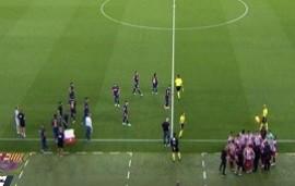 01/07/2020: La polémica reacción de Diego Simeone cuando Barcelona recién hacía ingresar a Griezmann en el último minuto del duelo ante Atlético Madrid