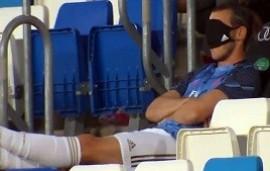 11/07/2020: La broma de una estrella del Real Madrid que fue viral: se hizo el dormido en la victoria frente al Alavés