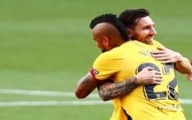 11/07/2020: El partido de Messi: la asistencia récord que le dio a Vidal para el triunfo y que lo metió en la historia