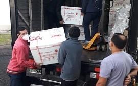 08/07/2021: Entre Ríos recibió más de 41 mil dosis de vacunas contra el Coronavirus