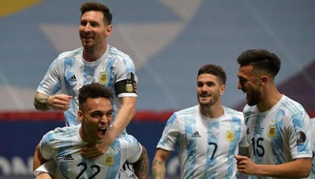 10/07/2021: Argentina va por el título en la gran final ante Brasil