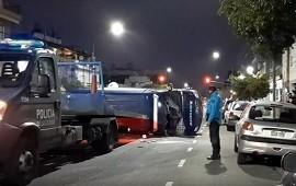 26/07/2021: Peritos que iban a la casa de Chano chocaron y acabaron heridos