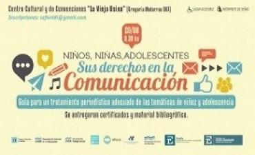 Presentarán la Guía de Buenas Prácticas periodísticas en niñez y adolescencia