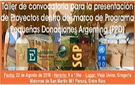 Convocan a ONG's entrerrianas a presentar proyectos ambientales para ejecutarse en la provincia