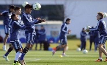 Con la llegada de Pavón, la Selección se entrenó por primera vez en Río