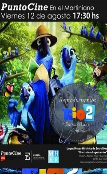 Punto Cine del Museo Histórico de Entre Ríos
