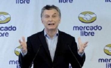 Mercado Libre invertirá 1500 millones de pesos: Macri pronosticó que generará 5 mil puestos de trabajo en los próximos 24 meses