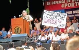 21/08/2017: 22A Sindicatos, organizaciones e izquierda marchan fragmentados contra el gobierno