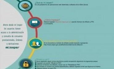 02/08/2017: Los afiliados del Iosper podrán gestionar on line su carta de derivación en tránsito
