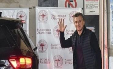 16/08/2017: Macri fue dado de alta tras la operación de la rodilla