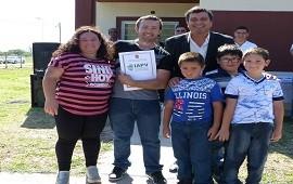 22/08/2018: La provincia ejecutará 10 viviendas en XX de Septiembre con recursos propios