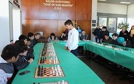 01/08/2018: Chicos, jóvenes y adultos participaron de un encuentro de Ajedrez Educativo