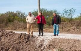 02/08/2018: Vialidad construirá una calzada sumergible en un camino vecinal Piedras Blancas