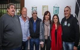 03/08/2018: ¿Volvió el amor? Después de 7 años, Cristina Kirchner y Hugo Moyano, juntos