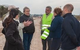 09/08/2018: Realizan los trabajos previos a la pavimentación desde Oro Verde a Tezanos Pinto