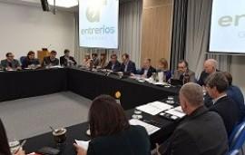 13/08/2018: Bordet evaluó con su gabinete el cumplimiento del plan de obras en la provincia
