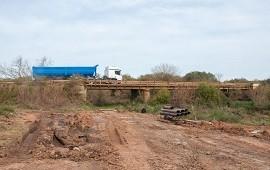 16/08/2018: Con fondos provinciales, se construye el puente sobre el arroyo Toledo en Federación