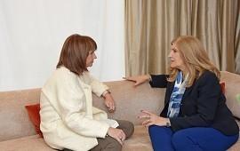16/08/2018: La ministra Romero se reunió con Patricia Bullrich