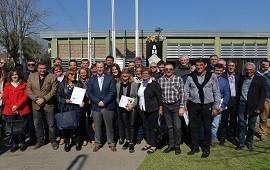 28/08/2018: Bordet gestiona un mecanismo para que no se detengan las obras del Fondo de la Soja que eliminó Nación