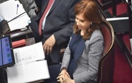 29/08/2018: Cristina Kirchner deberá volver a tribunales el lunes próximo para ampliar su indagatoria