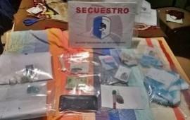 01/08/2019: Tras un allanamiento secuestraron droga, dinero en efectivo y celulares