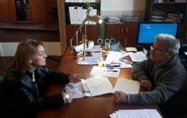 13/08/2019: Se evaluó el plan de obras para el hospital de Niños San Roque