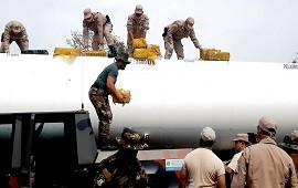 27/08/2020: Cargamento narco récord: un camión cisterna en Corrientes llevaba más de 8 toneladas de marihuana