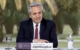 07/08/2020: Fernández reiteró su compromiso