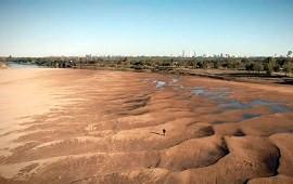 16/08/2021: El río Paraná sigue en descenso y llegó a una nueva medida por debajo del 0 de escala
