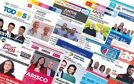 16/08/2021: Impresión de boletas: ¿Cuánto dinero reciben las 10 listas de las PASO?
