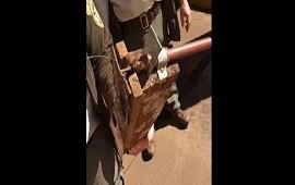 16/08/2021: Parque Nacional Iguazú: sospechoso artefacto tras la visita de Fernández