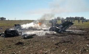 Se cayó una avioneta en General Villegas y hay dos heridos graves
