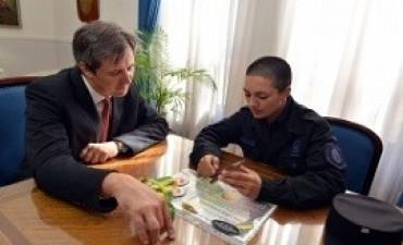 Entrerriana es la primer mujer policía de Latinoamérica en egresar de un curso de guardia urbana en Brasil