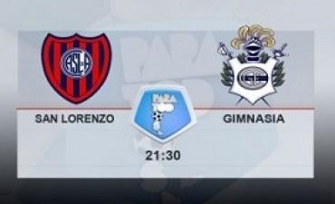 San Lorenzo juega con Gimnasia en el Nuevo Gasómetro