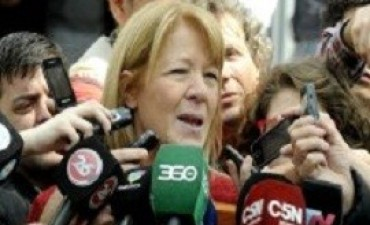 Stolbizer criticó a Carrió por hacer política