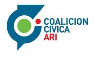 La Coalición Cívica ARI manifestó su