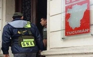 Gendarmería realizó allanamientos en Tucumán por causas que involucran a De Vido y José López