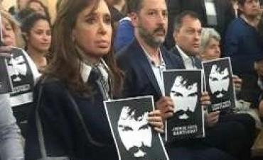 02/09/2017: La madre de una víctima de Once increpó a Cristina Kirchner en una misa por Santiago Maldonado