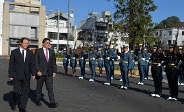 04/09/2017: Bordet recibió al embajador suizo en Argentina