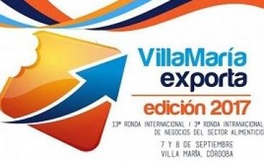06/09/2017: Doce empresas entrerrianas participan en la ronda de negocios Villa María Exporta 2017