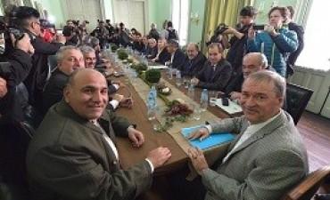 """06/09/2017: Con los gobernadores """"trabajamos para no perder los recursos que legítimamente nos corresponden"""", dijo Bordet"""