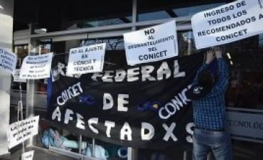 13/09/2017: Conflicto en el Conicet: investigadores tomaron el Ministerio de Ciencia